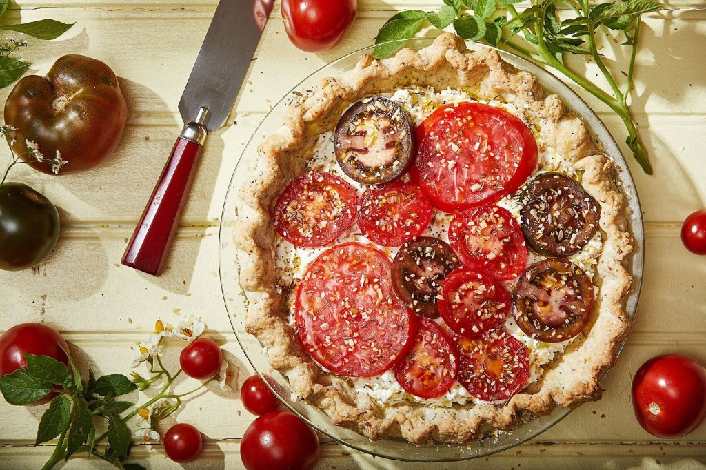 It's everything but the bagel with this summer tomato tart inspired by a deli favorite