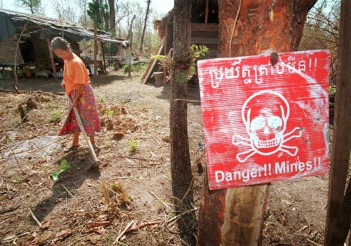 Why the land mine, a persistent killer of civilians, is coming back under Trump
