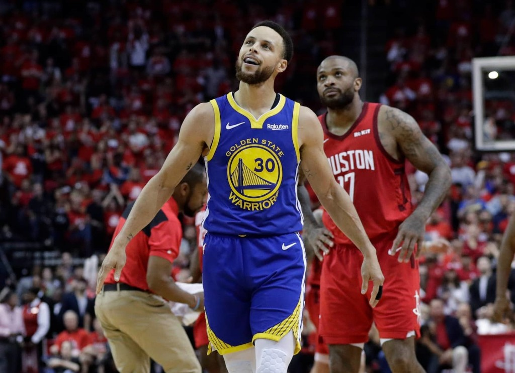 Stephen Curry aced his moment of truth, propelling Warriors to West finals