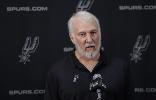 'A soulless coward': Gregg Popovich slams Trump's comments on slain soldiers