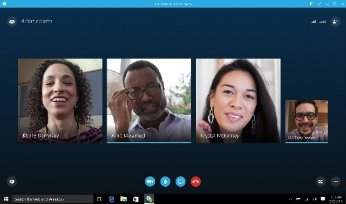 Skype can now blur your background, so no one can tell your life is a disaster