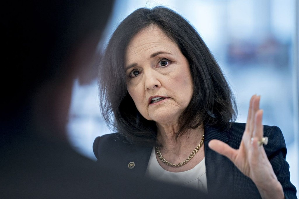 Senate banking panel to resume considering Judy Shelton for Fed board