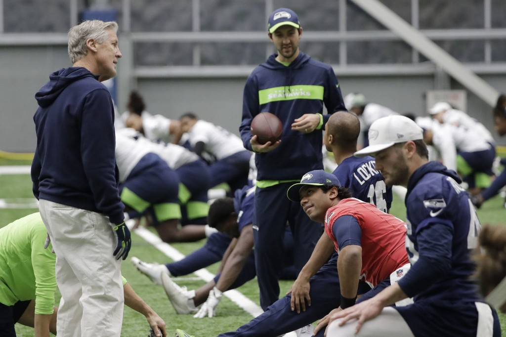 Pete Carroll gets more out of football players by seeing more than football players