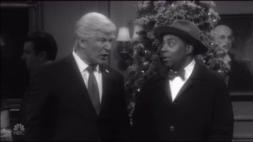 SNL imagined a world without Trump as president. Trump was not amused.