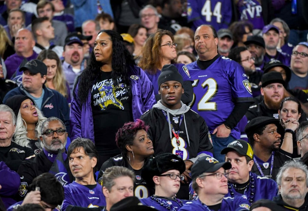 It wasn't supposed to end this way for Lamar Jackson and the Ravens