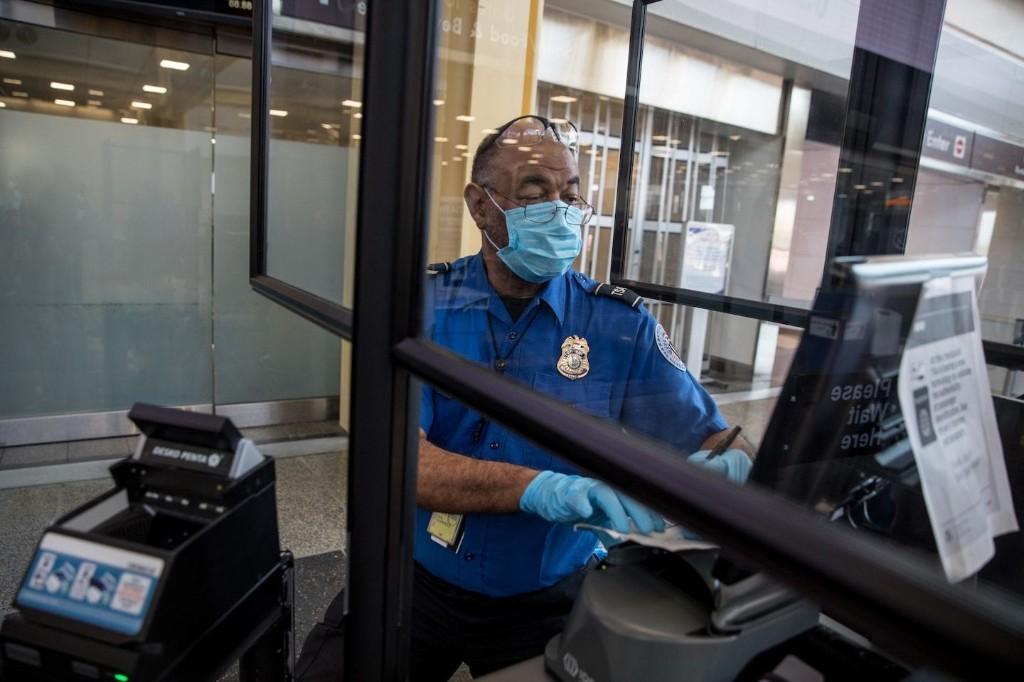Union wants vulnerable TSA officers to be kept home as coronavirus cases among employees surge