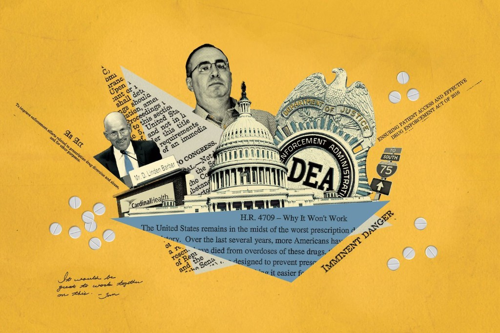The drug industry's triumph over the DEA
