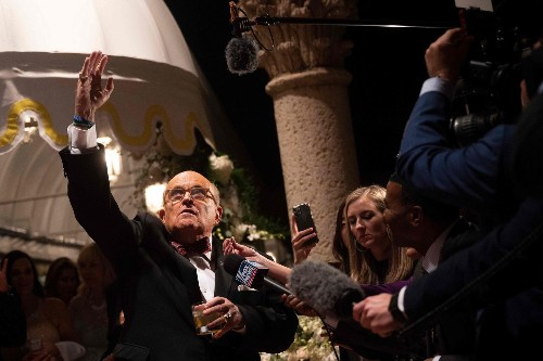 Lev Parnas and Rudy Giuliani have demolished Trump's claims of innocence