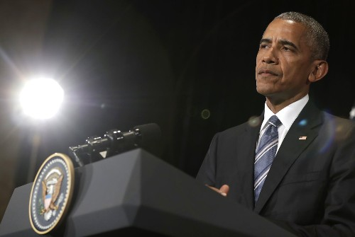 Obama rips Trump's 'outrageous behavior,' warns that it is becoming normalized