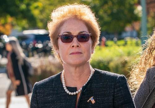 Defying White House, ambassador explains public service to a corrupt president