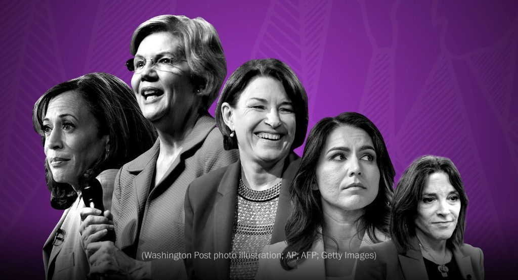 A woman is likely to be on the Democratic presidential ticket. But what about two?