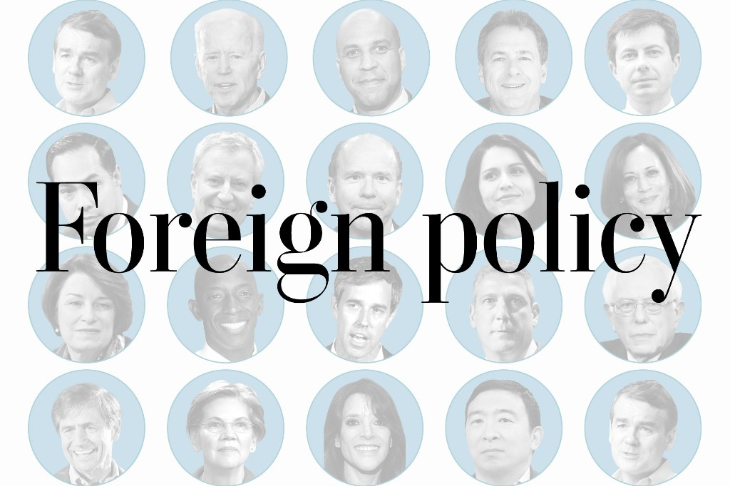 Where 2020 Democrats stand on   foreign policy