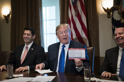 A tax cut bill only Donald Trump could love
