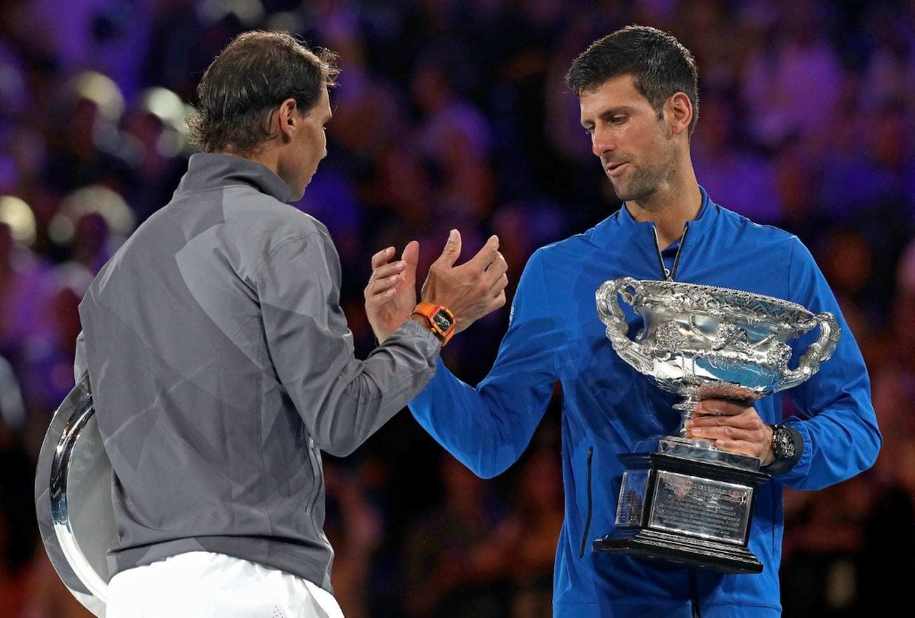 Novak Djokovic and Rafael Nadal are proving better with age to remain atop the sport