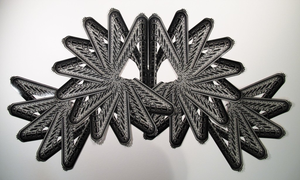 In the galleries: Cutting, pasting and creating dazzling order out of chaos