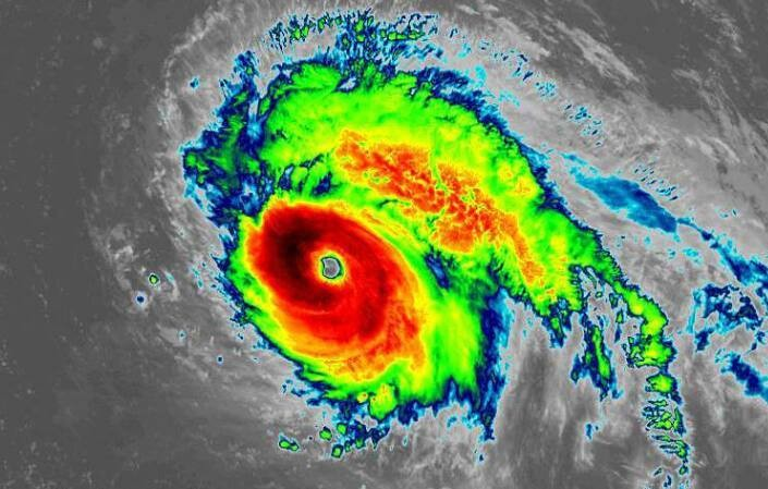 Hurricane Lorenzo hit Category 5 strength the farthest northeast on record in the Atlantic