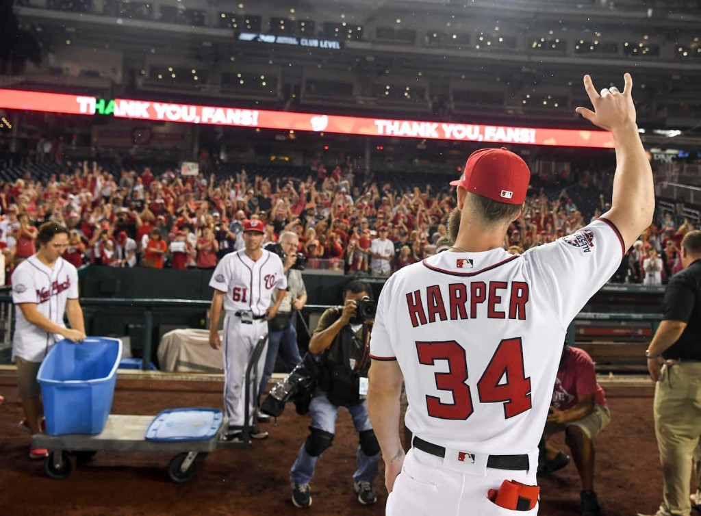 The Bryce Harper Sweepstakes