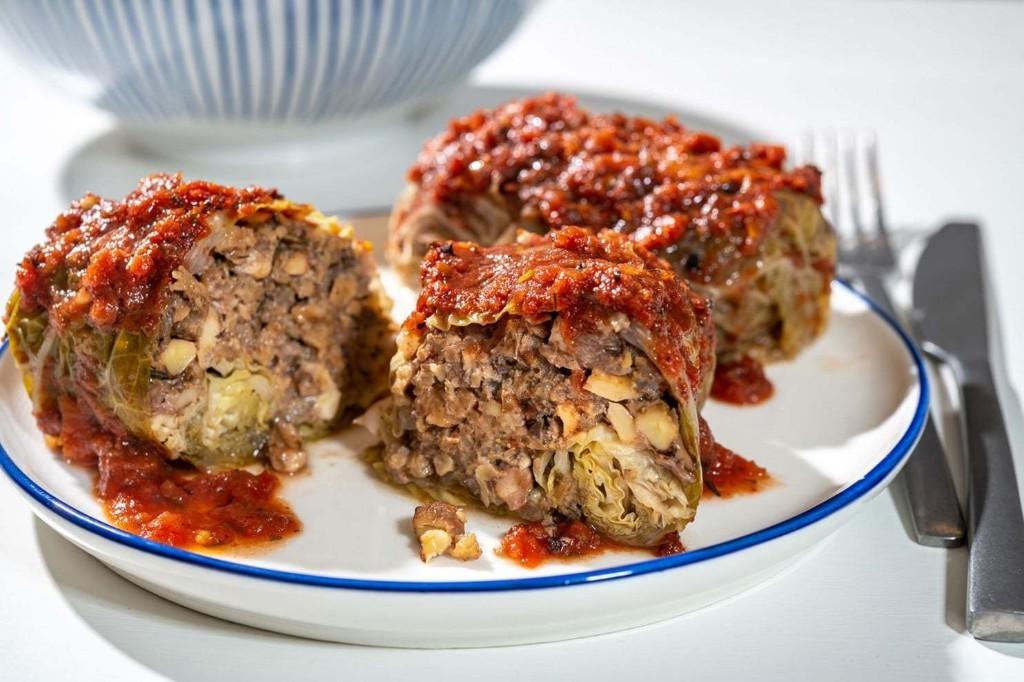 Mushroom Stuffed Cabbage Rolls - The Washington Post