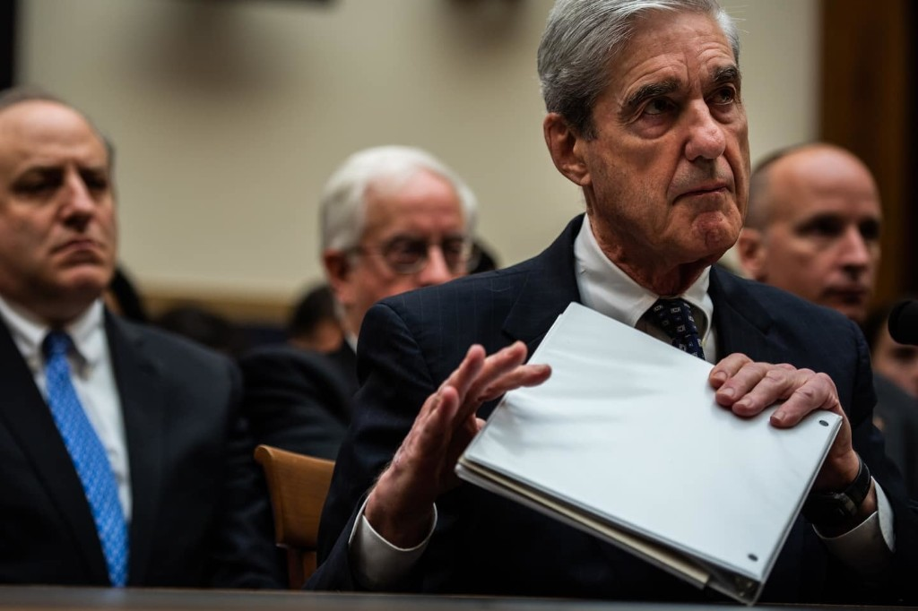 Trump administration asks Supreme Court to stop release of Mueller material