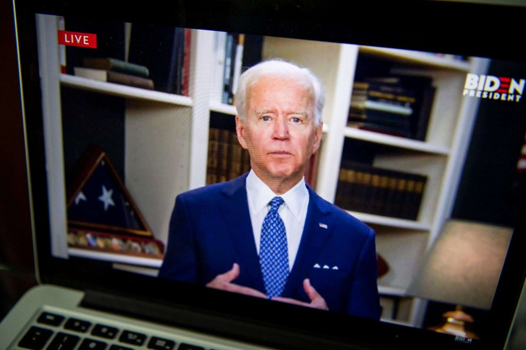 Things are looking good for Biden. But things could change in an instant.
