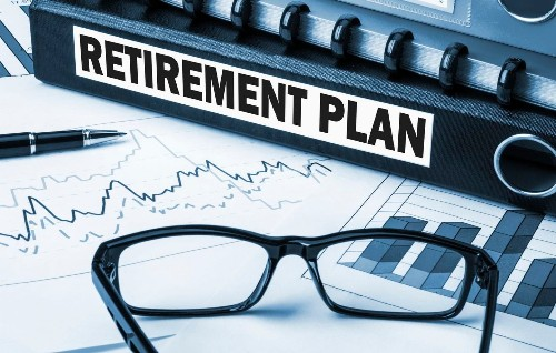 How do you not panic about what's happening to your retirement account? Just don't look.
