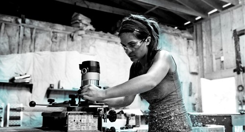 Women in construction are creating their own community. Meet the new wave of female builders.