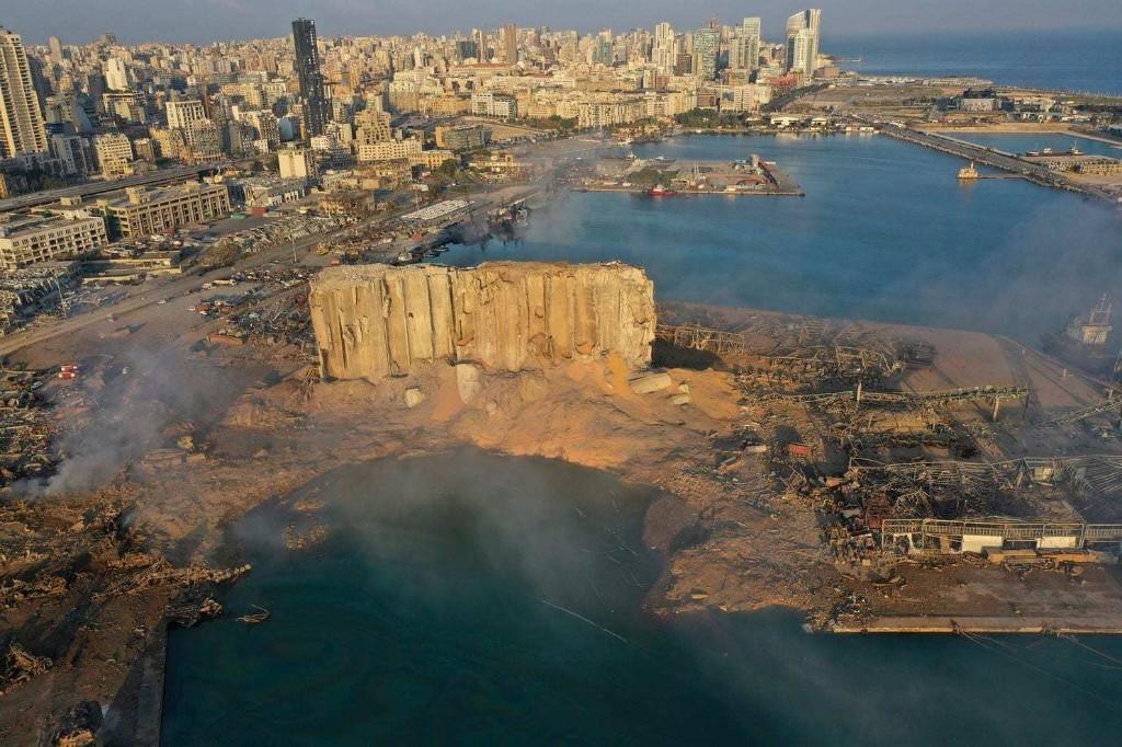 After the blast: Satellite images show destruction in Beirut