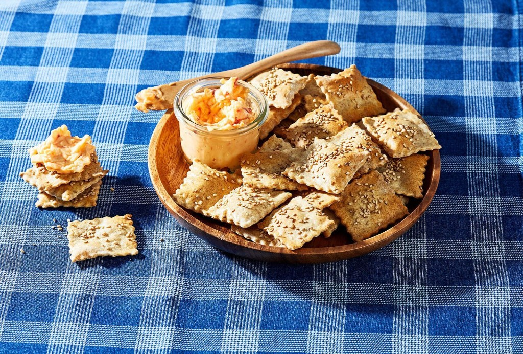Want to make the most of your sourdough starter? Start with these castoff crackers.