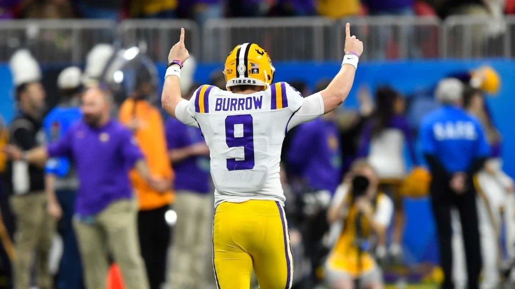 Joe Burrow's wizardry lights up Oklahoma and sends LSU to national championship