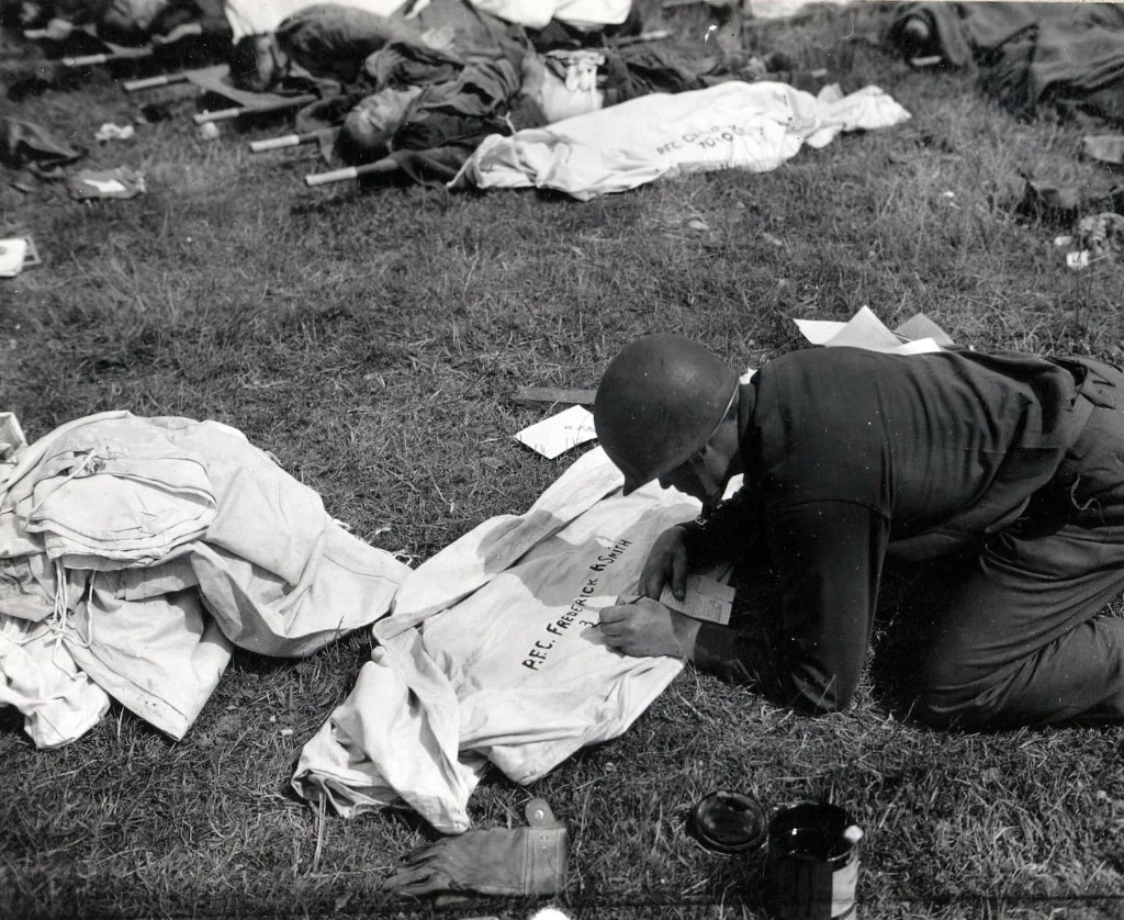 The triumph and tragedy of D-Day, in black and white