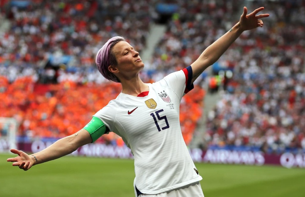 Megan Rapinoe — unafraid to do it her way, on and off the field — is the best of sports in 2019