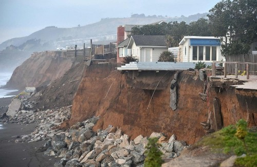 California will face a terrible choice: Save cliff-side homes or public beaches from rising seas