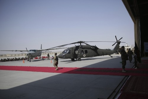 U.S. wants to build 'tsunami of air power' in Afghanistan, but impact is years away