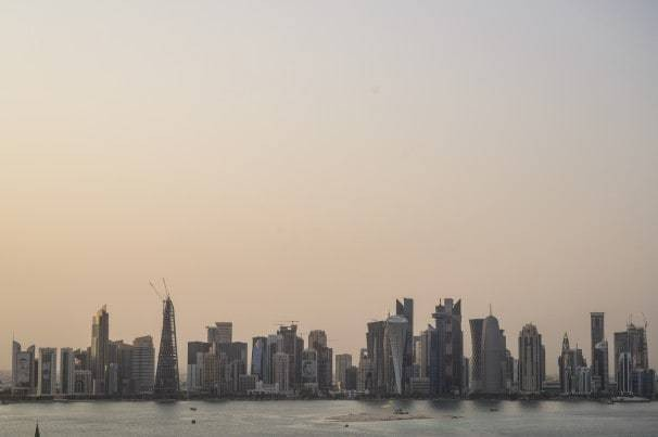Facing unbearable heat, Qatar has begun to air-condition the outdoors