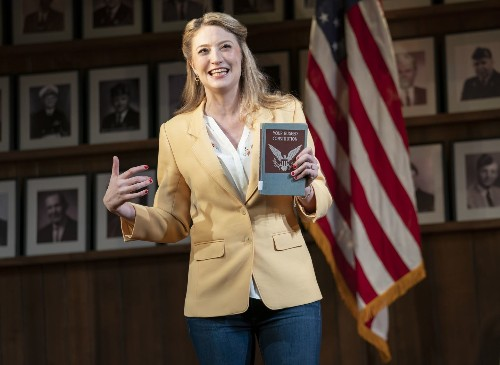 Heidi Schreck turns the page as 'What the Constitution Means to Me' comes to Kennedy Center