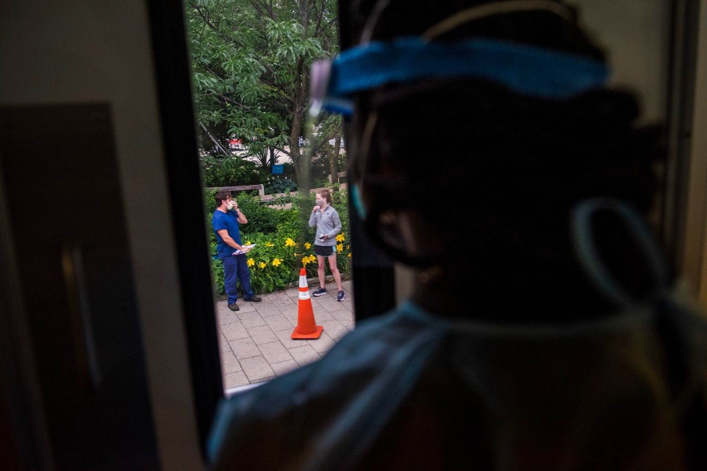 Coronavirus caseload in Washington region hits single-day record