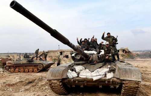 Syrian army takes key town in last major rebel bastion of Idlib