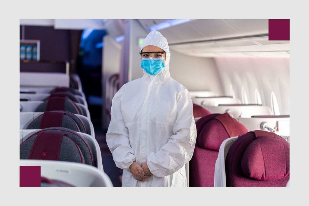 People are wearing hazmat suits on planes. But should they?
