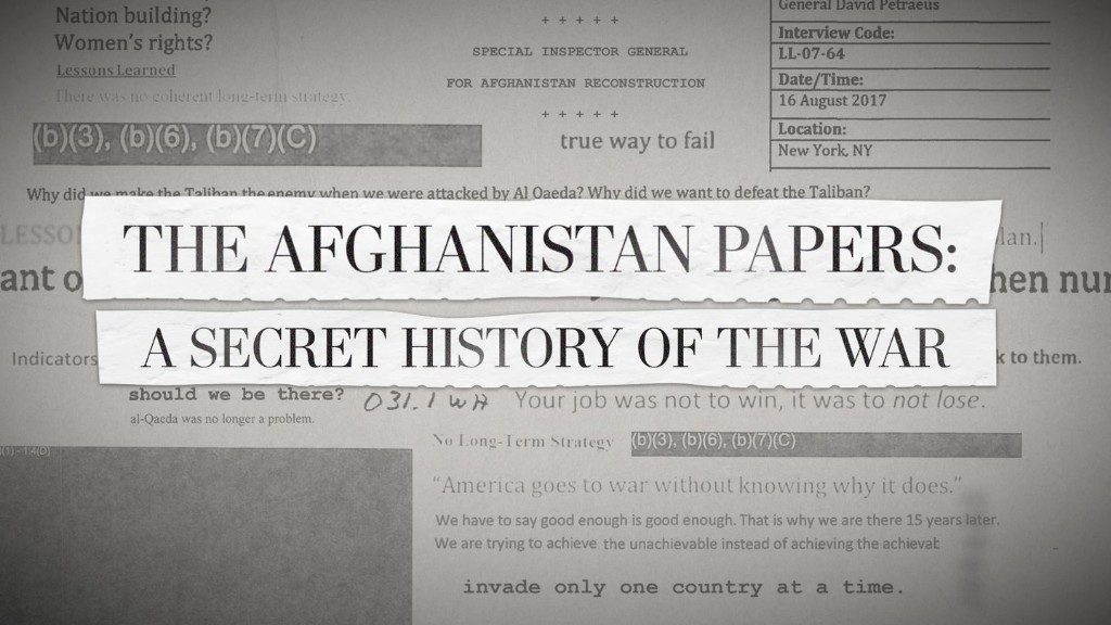 Afghanistan Papers trigger demands for similar accountability in Europe