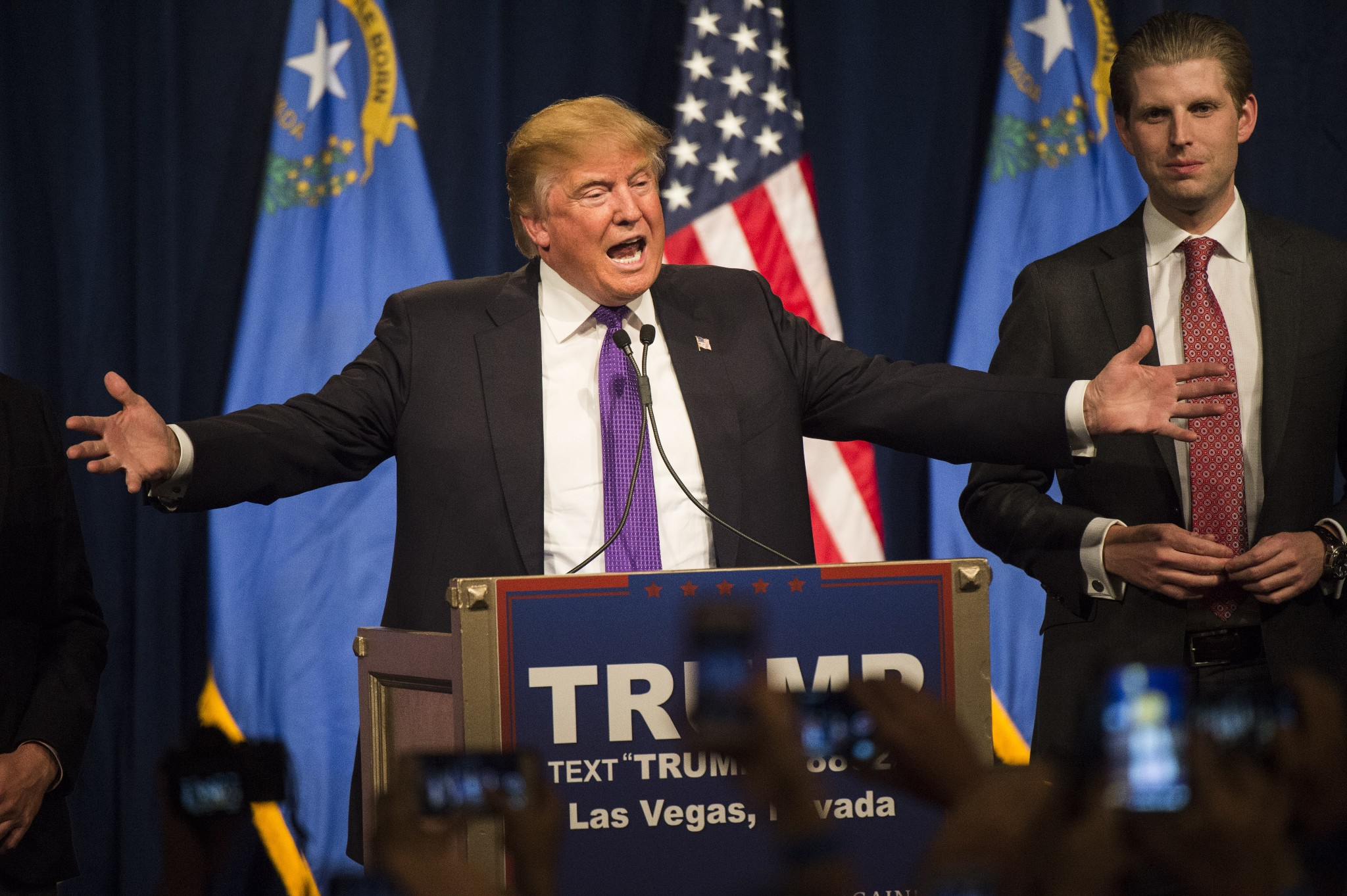 In Nevada caucuses, Trump gets a third straight win