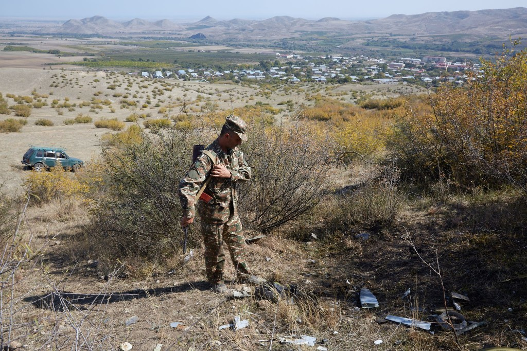 Azerbaijan's drones owned the battlefield in Nagorno-Karabakh — and showed future of warfare