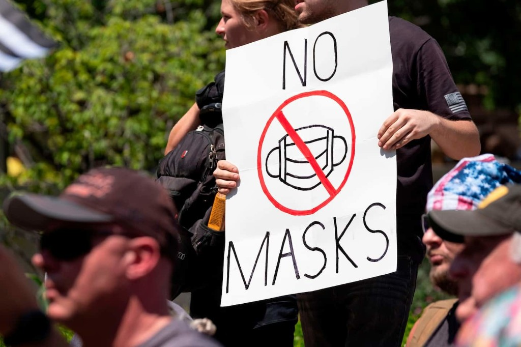How mask fights echo seat belt fights: 'The right to be splattered all over their windshields'