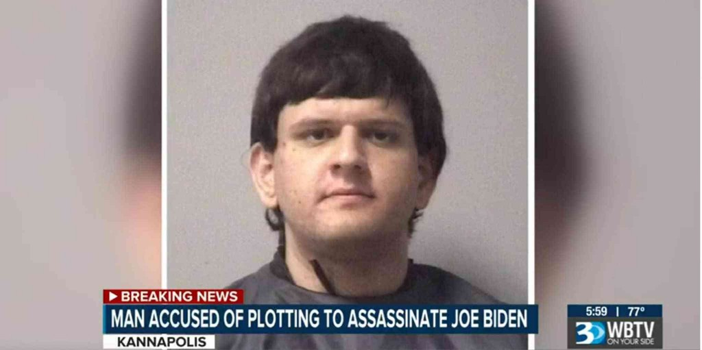 A 19-year-old with a van full of guns and explosives plotted to assassinate Biden, feds say