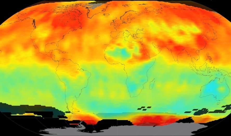 Atmospheric carbon dioxide just reached a huge record high