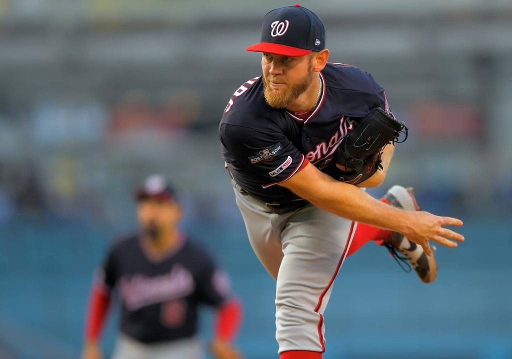The Nationals' rotation encountered a knife fight and brought a bazooka. Or four.