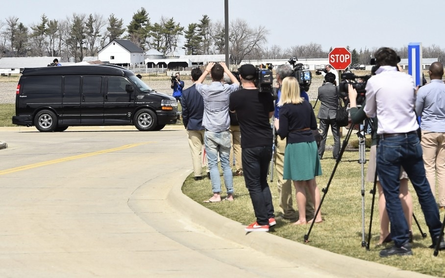 In defense of reporters chasing after Hillary Clinton's van