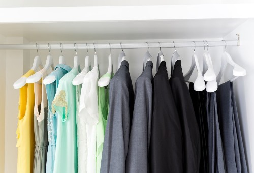 Life is easier with a capsule wardrobe