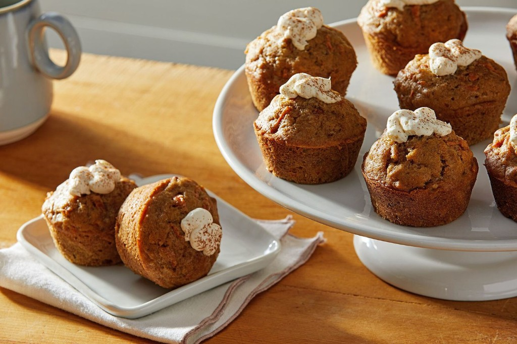 These carrot cake muffins are easy to make and even easier to eat
