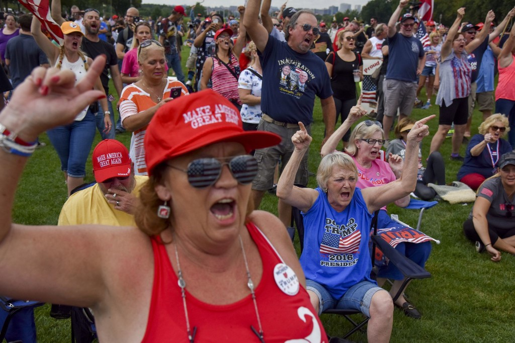 New research explores authoritarian mind-set of Trump's core supporters