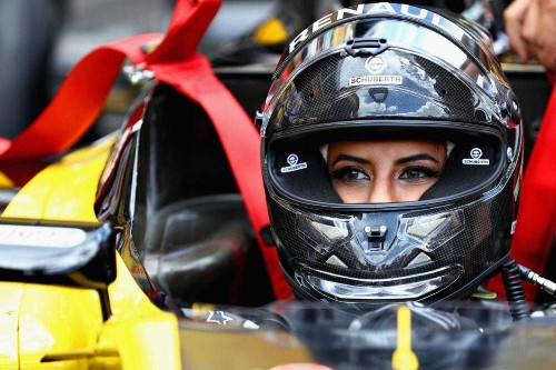 'Magical': A Saudi Arabian woman drives a Formula One car as ban ends